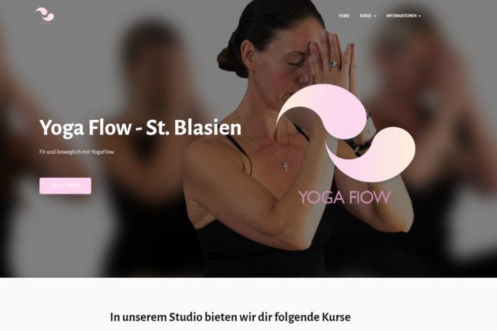 Yoga Flow St. Blasien Webseite