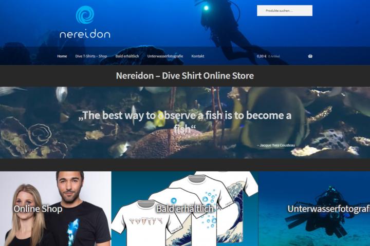 Nereidon Online Shop by EMD Studio