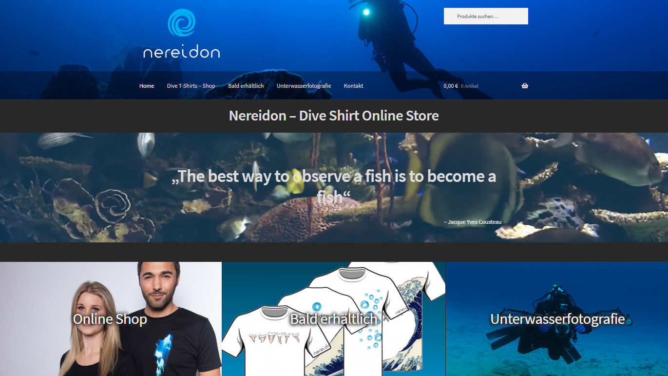 Nereidon Online Shop by EMD Studio